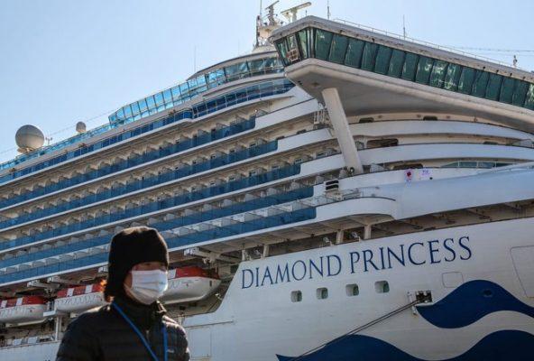 Tàu du lịch Diamond Princess. Ảnh: Reuters