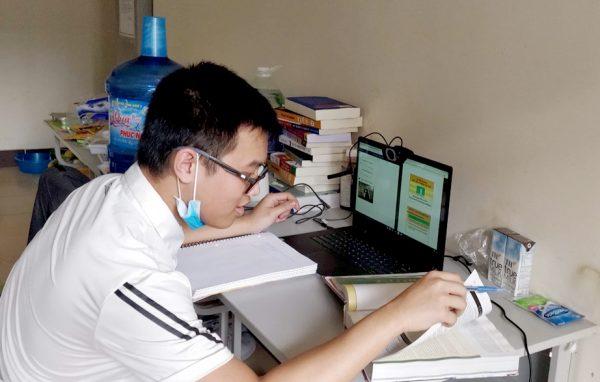 Quang Nghị trở về từ Mỹ và đang thực hiện lệnh cách ly tại Tứ Hiệp, Hà Nội. Ảnh: Nhân vật cung cấp.