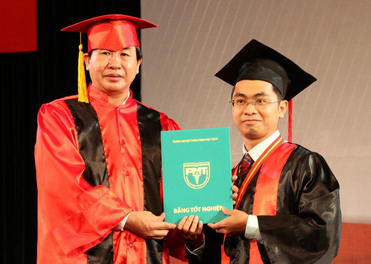 Lễ trao bằng tốt nghiệp trường Đại học Y khoa Phạm Ngọc Thạch, TP HCM. Ảnh: Mạnh Tùng.