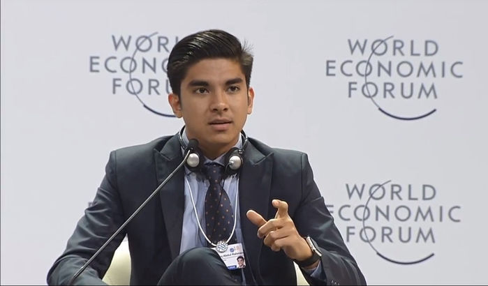 Bộ trưởng Thanh thiếu niên và Thể thao Malaysia trong diễn đàn kinh tế thế giới.