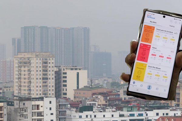 Hà Nội đang trải qua những ngày ô nhiễm không khí kinh khủng nhất /// Ảnh: Ngọc Thắng - Ngọc Dương