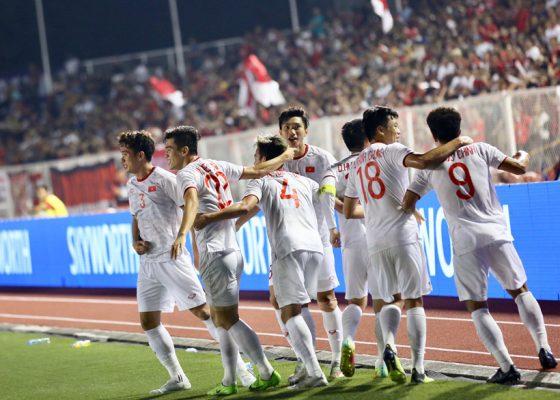 Chiến thắng đến rất gần với các tuyển thủ U22 Việt Nam.