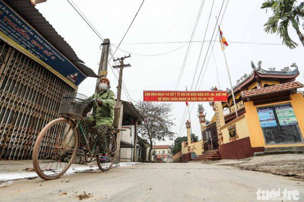 Vĩnh Phúc cách ly toàn xã Sơn Lôi, hỗ trợ mỗi người dân 40.000 đồng/ngày - Ảnh 1.