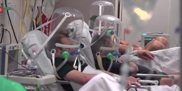 Mọi thứ trở nên hỗn loạn chưa từng thấy: Các bệnh viện Mỹ đang vỡ trận vì đại dịch virus corona - Ảnh 2.